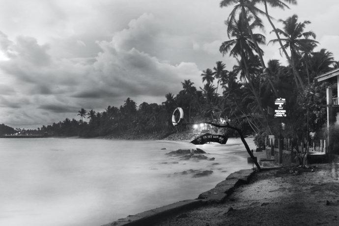 Unawatuna Jungle Beach Sri Lanka.