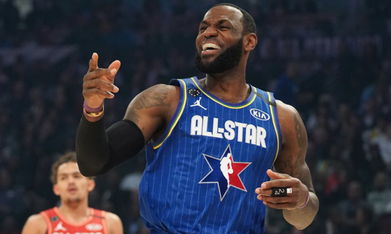 NBA All-Star Game - best dunks, skills and action