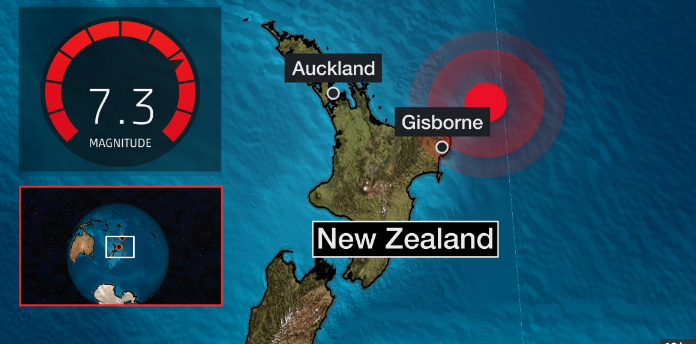 NewZealand Earthquake 2021