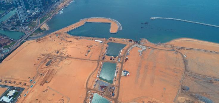 Port City Project Construction