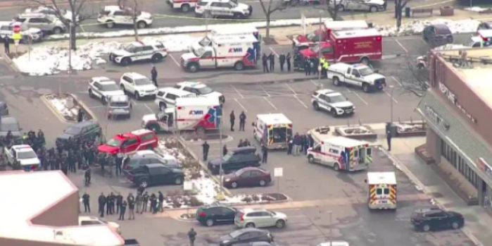 Shooting at Colorado grocery store USA