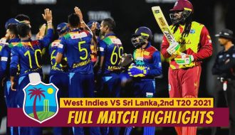 Sri Lanka Vs West Indies 2021 2nd T20