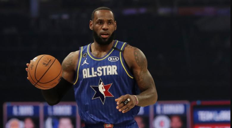 Team LeBron go crazy! 2021 NBA All-Star Game
