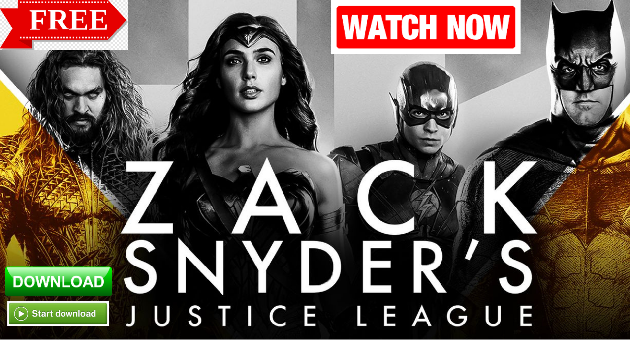 justice league snyder cut free download