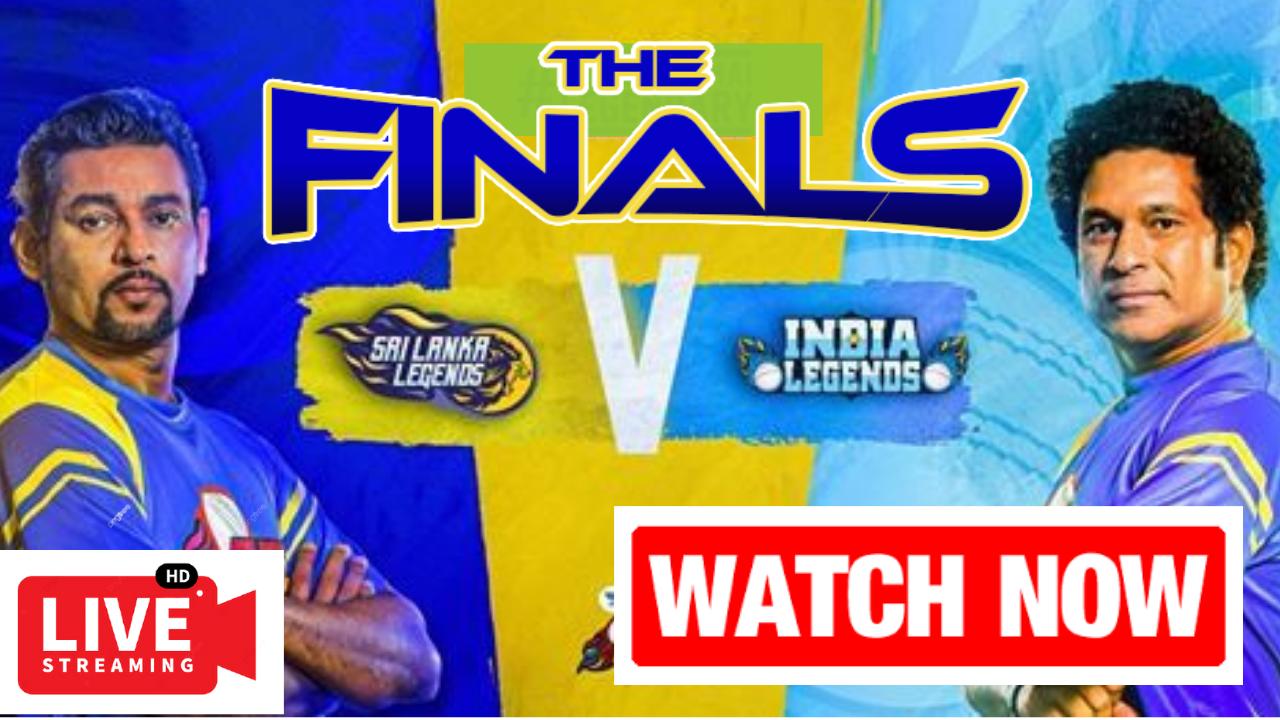 sri lanka legends vs india legends Final